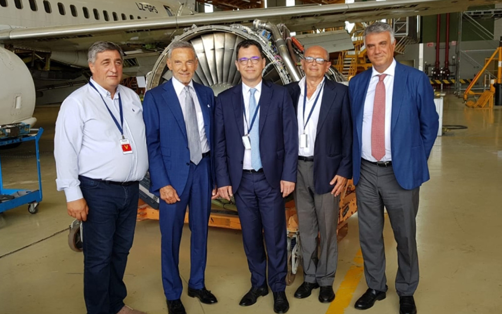 Aeronautic: Bucarest studies Naples – Rumanian delegation visits Atitech