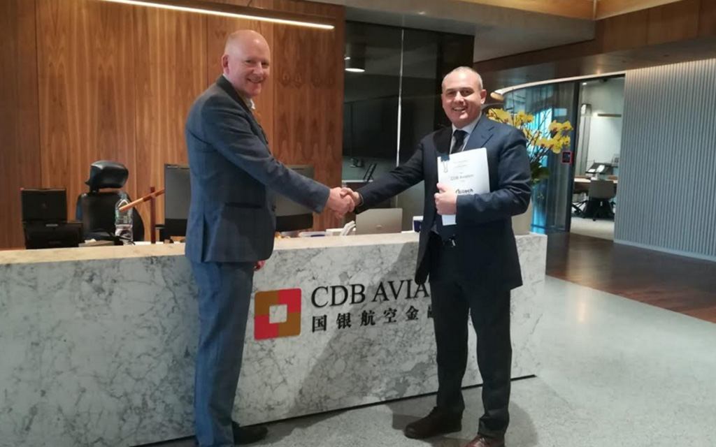 Dublin, contract between Atitech and CDB Aviation