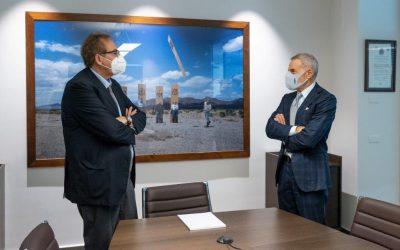 """Il Prefetto di Napoli in visita ad Atitech: """"Apprezzamento per l'organizzazione"""""""
