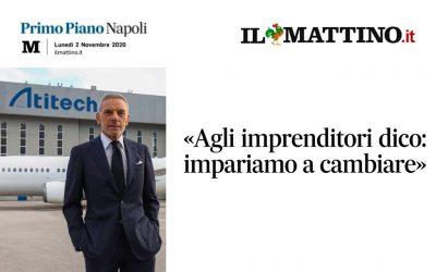 """L'Intervista/ Lettieri al Mattino: """"Imprenditori, ora serve flessibilità"""""""