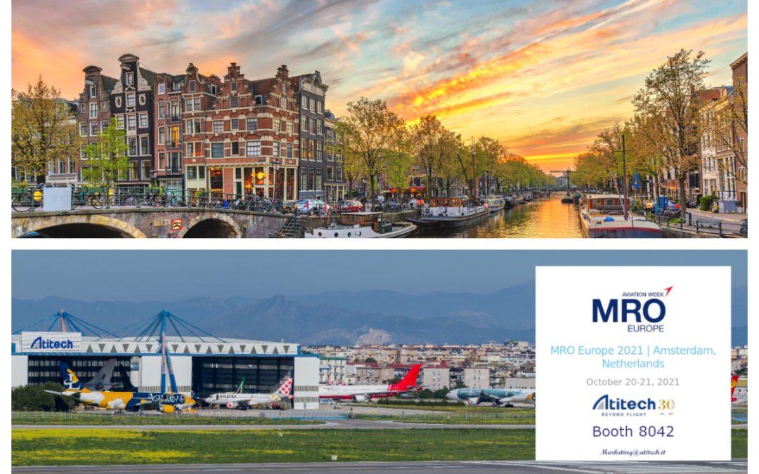 Atitech all'Aviation Week MRO Europe 2021