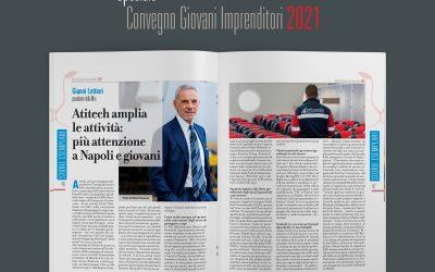 Atitech di Gianni Lettieri amplia le attività: più attenzione a Napoli e giovani